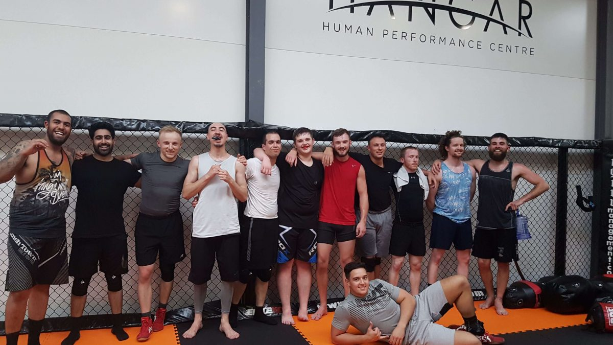 MMA Cardiff Hangar MMA and Wrestling Team