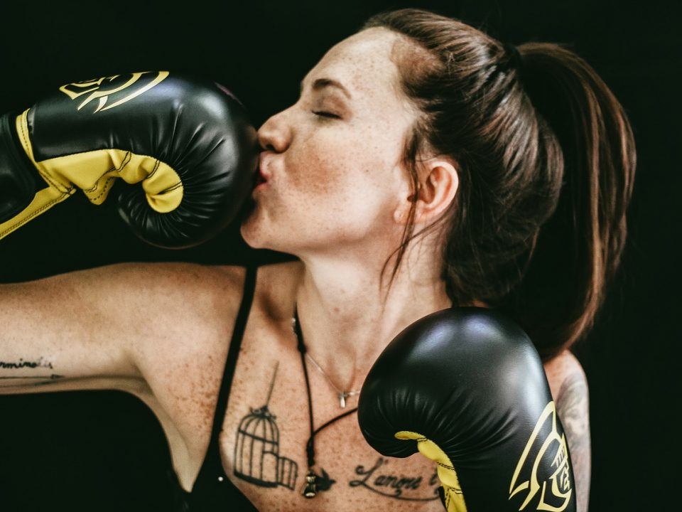 Stop your boxing gloves being smelly