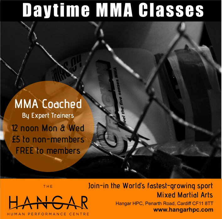 Daytime MMA Classes in Cardiff