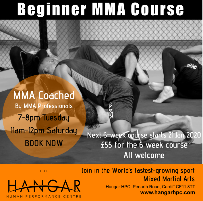 Beginners MMA Course Hangar HPC Cardiff January 2020