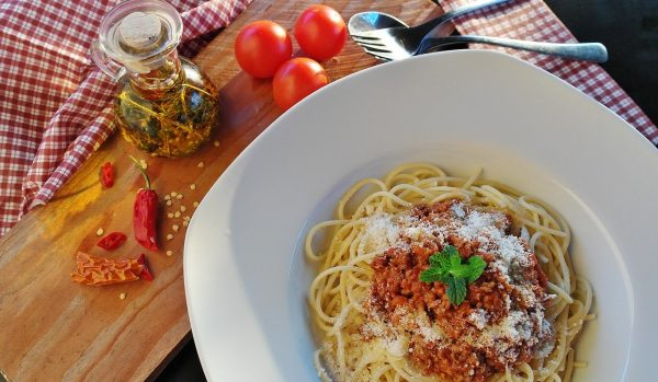 Minced Beef Spaghetti Bolognese