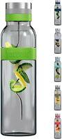 Glass Carafe with Fruit Skewer Drinks Bottles 2 Pack