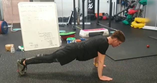Competition Time - Hand release push up challenge