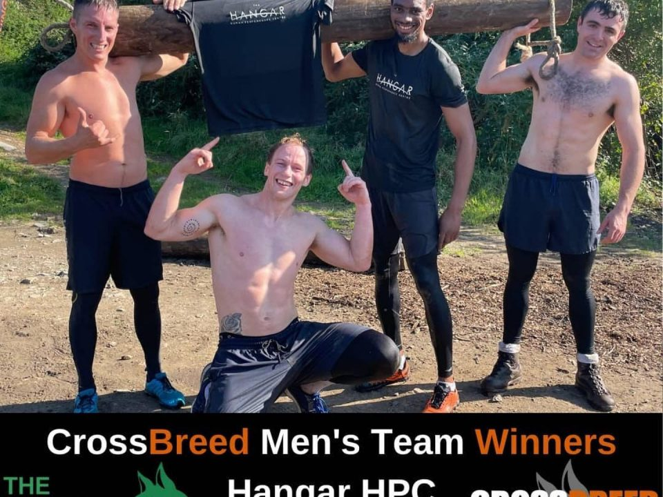 CrossBreed Mens Team Winners Hangar HPC